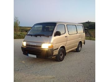Mikrobus TOYOTA Hiace H15 left hand drive 2.4 diesel 2L engine 9 seats