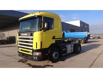 Scania 114 - 340 (MANUAL GEARBOX / BOITE MANUELLE / PERFECT CONDITION) - ciągnik siodłowy