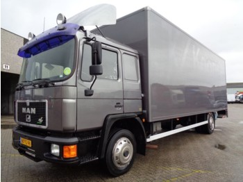 Ciężarówka furgon MAN 18FL 230 M90 EKO-TECH + BIG BOX + EURO 1 + MANUAL + NL TRUCK