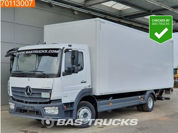 Ciężarówka furgon Mercedes-Benz Atego 1218 L 4X2 Perfect-Condition! Ladebordwand Euro 6