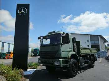 Mercedes-Benz Axor 1829 A 4x4 Single Bereifung Expedition  - ciężarówka plandeka