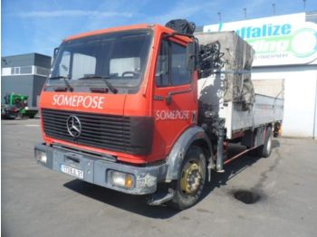 Mercedes-Benz 1722 manual - full steel - big axle - ciężarówka platforma