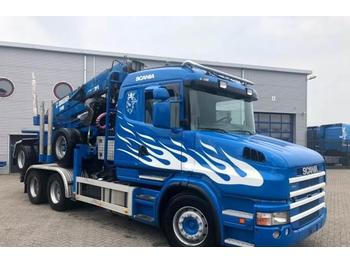 Scania T420 Manual Retarder Euro-4 Holztransport 2006  - ciężarówka