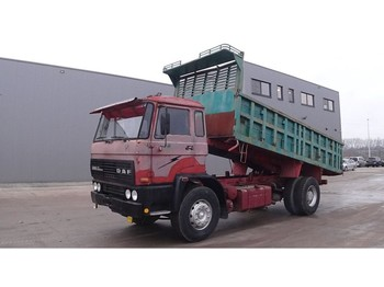DAF 2300 (BIG AXLE / FULL STEEL SUSPENSION / MANUAL PUMP) - wywrotka