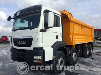 MAN 2015 TGS 41.400 8X4 E5 MANUAL AC HARDOX TIPPER - wywrotka