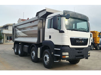 MAN 2015 TGS 41.400 E5 8X4 HARDOX TIPPER VERY GOOD CON. - wywrotka