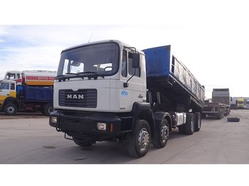 MAN 35.364 (BIG AXLE / FULL STEEL SUSPENSION / ZF-GEARBOX / 12 TIRES) - wywrotka