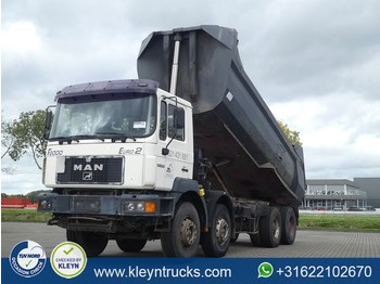 MAN 41.403 F2000 8x4 manual steel - wywrotka