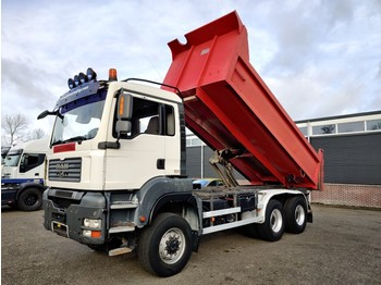 Wywrotka MAN TGA 33.360 6x6 Euro4 - 23m3 Tipper - Steel Suspention - 10 tires - BOX is 3 years OLD!