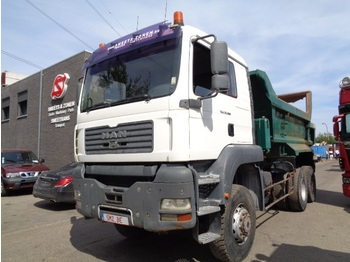 MAN TGA 33.360 6x6 heavy chassis/ tipper hydr Door - wywrotka