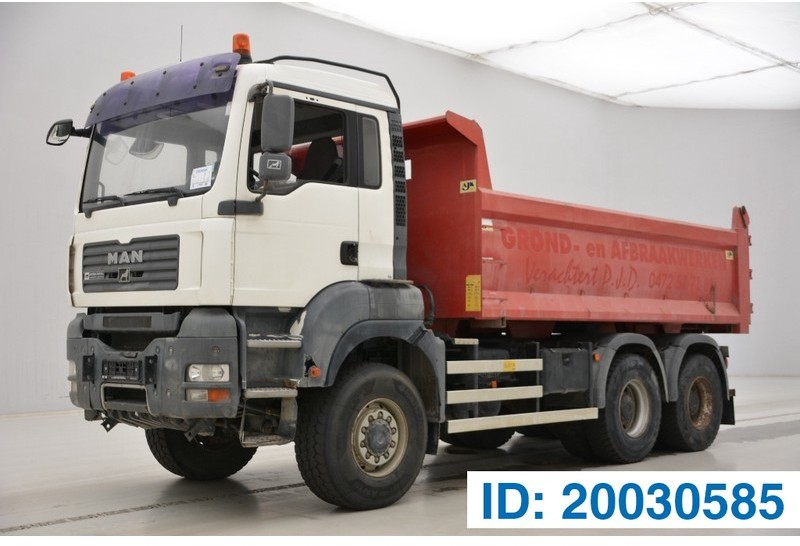 wywrotka MAN TGA 33.440 - 6x6 - tractor/tipper double use