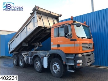 MAN TGA 35 390 8x4, Steel suspension, 13 Tons axles, Airco - wywrotka