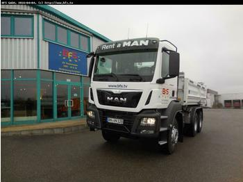 Wywrotka MAN TGS 26.440 6x4 BB Bordmatik links Intarder