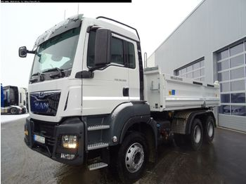Wywrotka MAN TGS 26.500 6x4 BB Bordmatik links,Mittelhohe Bau