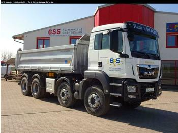 MAN TGS 35.460 8x4 BB Bordmatik links, 3-Seiten Kipp  - wywrotka
