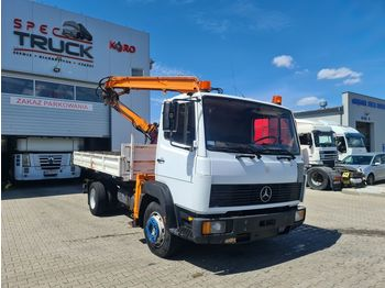Wywrotka MERCEDES-BENZ 1117, TIPPER WITH CRANE 4X2, FULL STEEL, MANUAL