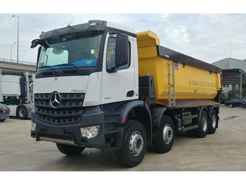 MERCEDES-BENZ 2017 4142 AROCS E6 8X4 MANUAL HARDOX TIPPER - wywrotka