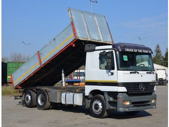MERCEDES-BENZ ACTROS 2543 6x2 model 1997 - TIPPER - wywrotka