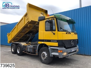 Wywrotka Mercedes-Benz Actros 3335 6x4, manual, Steel suspension, 13 Tons axles, Analoge tachograaf, Hub reduction