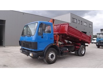 Wywrotka Mercedes-Benz SK 1617 (SUSPENSION LAMES / AVEC GRUE / STEEL SUSPENSION / CRANE)
