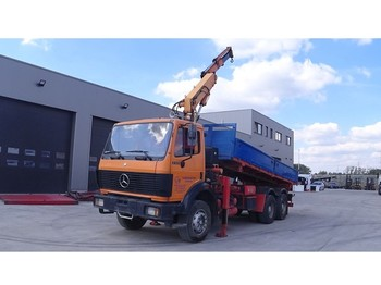 Wywrotka Mercedes-Benz SK 2422 (BIG AXLE / STEEL SUSPENSION / ATLAS CRANE / V6)