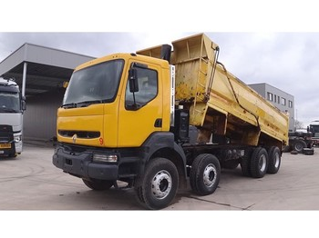 Renault Kerax 340 (GRAND PONT / SUSPENSION LAMES / POMPE MANUELLE / EURO 2) - wywrotka