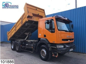 Wywrotka Renault Kerax 370 6x4, Manual, Airco, Steel suspension, Analoge tachograaf, Hub reduction