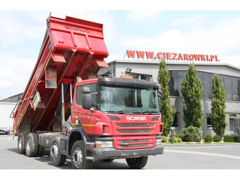 SCANIA P 400 8X4 TIPPER RIGHT HAND DRIVE - wywrotka