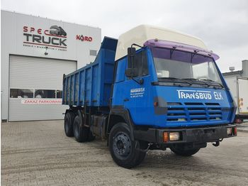 Wywrotka STEYR 1491 Tipper 6x4, Full Steel, big axles ,6 CYLINDERS