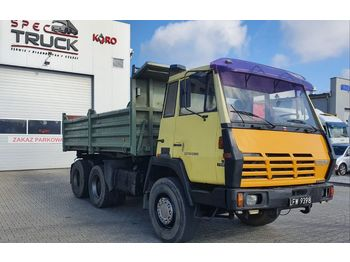 Wywrotka STEYR 1491, Tipper 6x4, Full Steel, big axles ,6 CYLINDERS