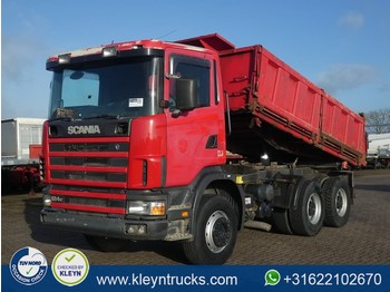 Wywrotka Scania R124.400 6x4 manual steel