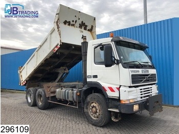 Volvo FM12 340 6x4, Manual, Steel suspension, Hub reduction - wywrotka
