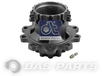 DT SPARE PARTS Wheel hub Rear axle 1657637 - centrum