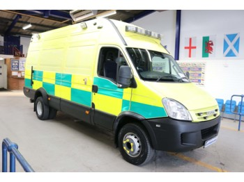 IVECO DAILY 65C18 3.0HPI LWB HIGH TOP INCIDENT SUPPORT VEHICLE C/W TAIL LIFT  - pogotowie