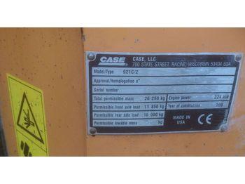 Ładowarka kołowa CASE 921 C