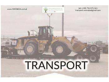 Ładowarka kołowa CATERPILLAR Transport maszyn. Zadzwoń 577. 011. 156