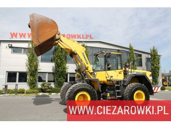 Ładowarka kołowa KOMATSU WA430-6 , 21t , bucket , auto-greasing , A/C , camera , industri