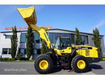 Ładowarka kołowa KOMATSU WA 470-7 , 24 t, bucket , auto greasing system , camera , A/C