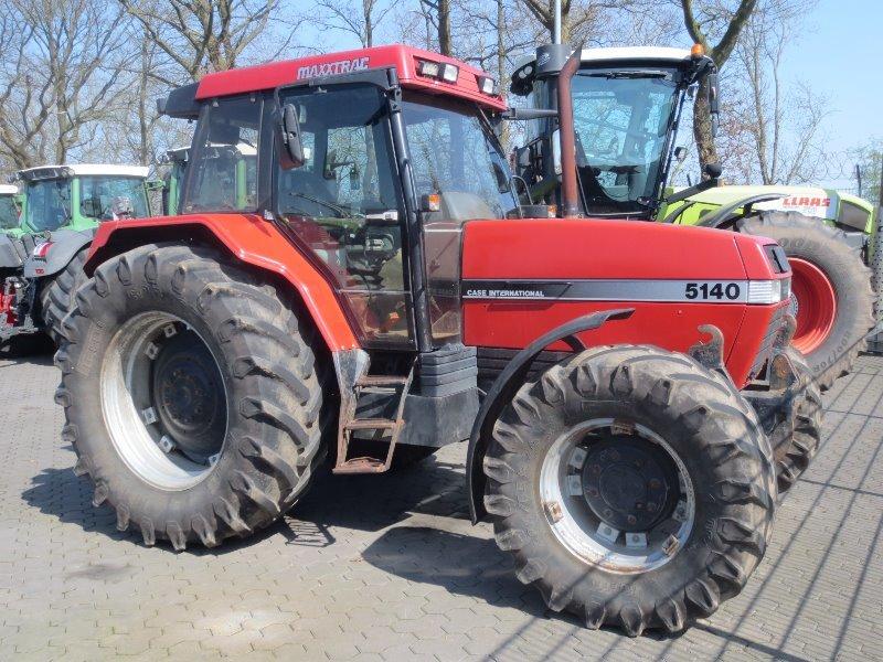 Chwalebne Ciągnik rolniczy Case 5140 MAXXUM z Niemiec używany na sprzedaż KI22