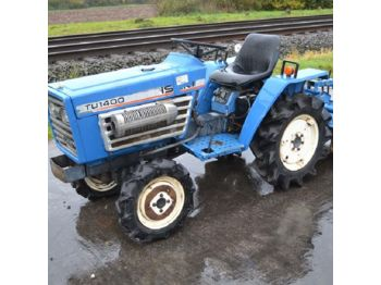 Iseki TU1400 4WD Compact Tractor c/w Cultivator (NO CE MARK - NOT FOR USE OR TRADE WITHIN EU) - 00316 - mini traktor