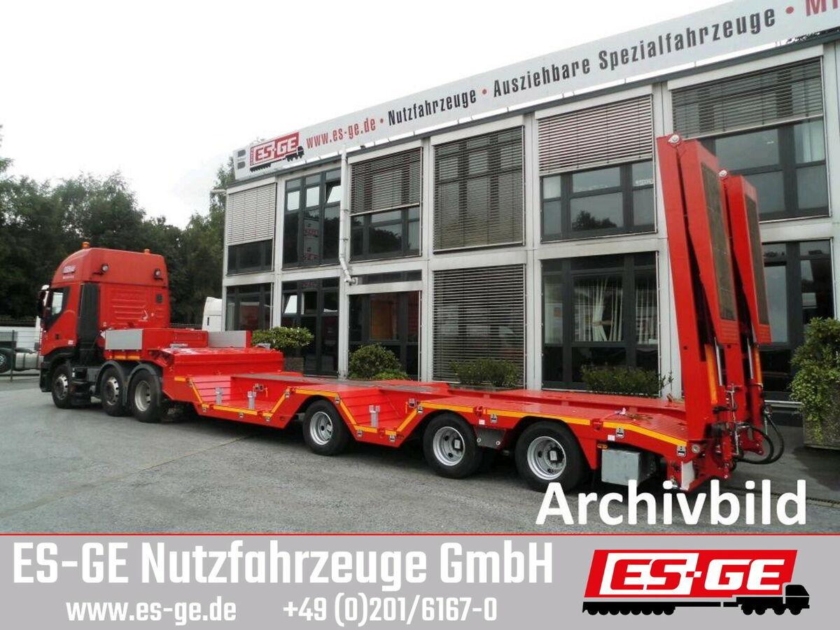 naczepa niskopodwoziowa ES-GE 3-Achs-Satteltieflader mit Radmulden