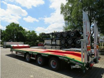 HRD 3 axle Achs light Leichtbau low loader  - naczepa niskopodwoziowa