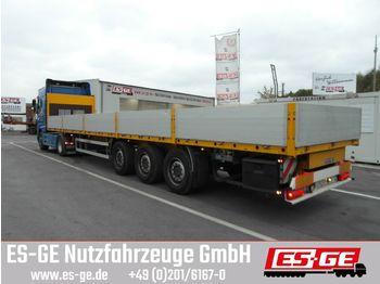 Naczepa platforma ES-GE 3-Achs-Sattelanhänger - Bordwände - CV