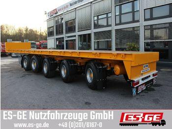 Naczepa platforma ES-GE 5-Achs-Ballastauflieger