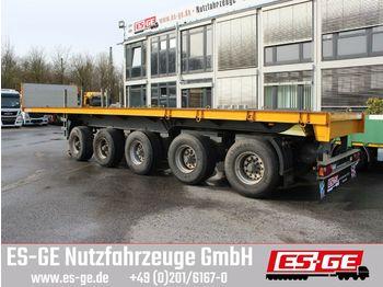 Naczepa platforma Schmidt 5-Achs-Ballastauflieger