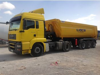 LIDER 2020 NEW DIRECTLY FROM MANUFACTURER COMPANY AVAILABLE IN STOCK - naczepa wywrotka