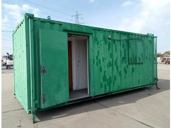 18' x 8' Containerised Welfare Unit - kontener budowlany