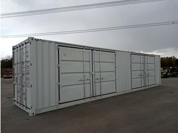 Kontener morski 2021 40' High Cube Container, 2 Side Doors, 1 End Door