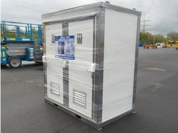 Unused 2021 Portable Double Closestool Toilets - nadwozie wymienne/ kontener