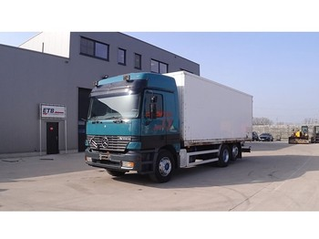 Mercedes-Benz Actros 2540 (FRONT STEEL SUSPENSION / DEVANT SUSPENSION LAMES / 6X2 / GRAND PONT / BIG AXLE) - samochód ciężarowy furgon